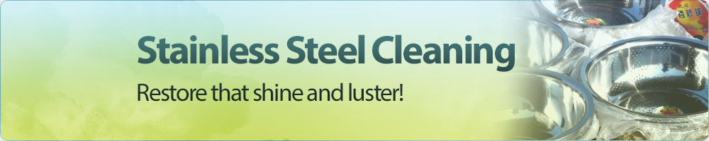 Stainless Steel Cleaning